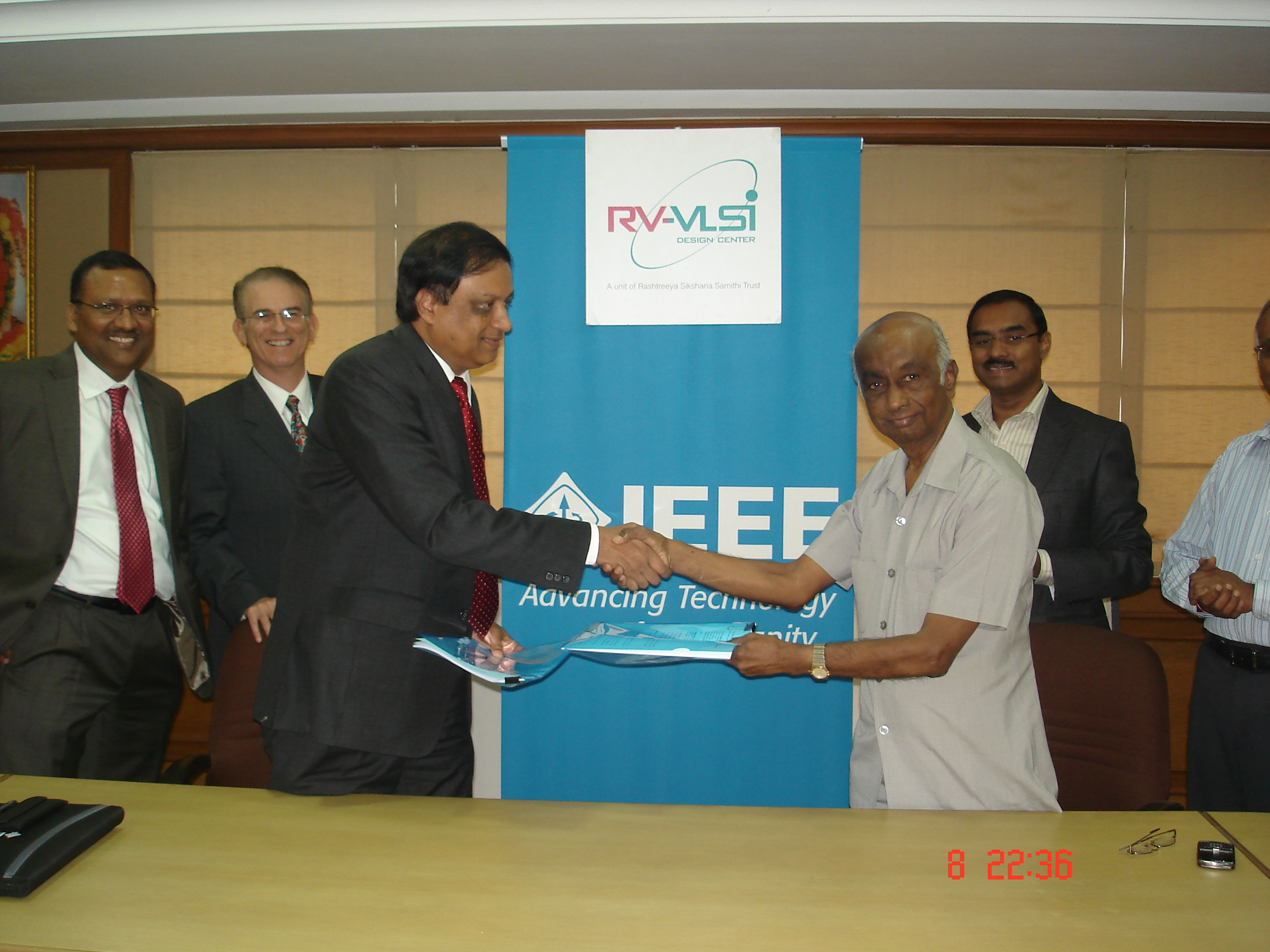 IEEE and RV-VLSI partner to offer E-Learning and Online courses in VLSI